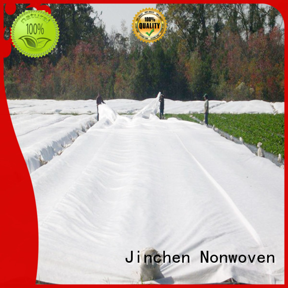 Jinchen spunbond nonwoven fabric ground treated for tree