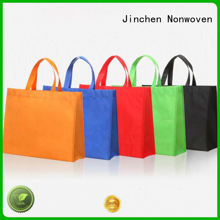 Jinchen non plastic carry bags manufacturer for shopping mall