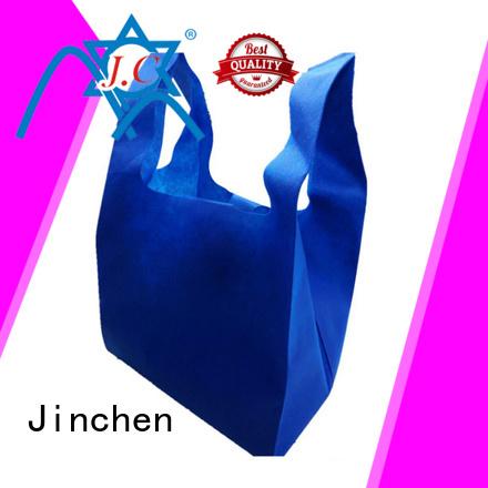 Jinchen seedling non plastic carry bags handbags for supermarket