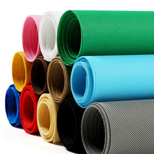 TNT Nonwoven fabric rolls packaging wholesale in European market for tablecloth