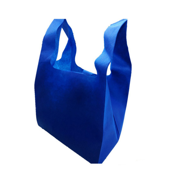 Eco-friendly Recyclable PP non woven bag T-shirt vest bag
