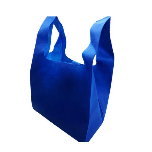 Eco-friendly Recyclable PP non woven bag T-shirt vest bag