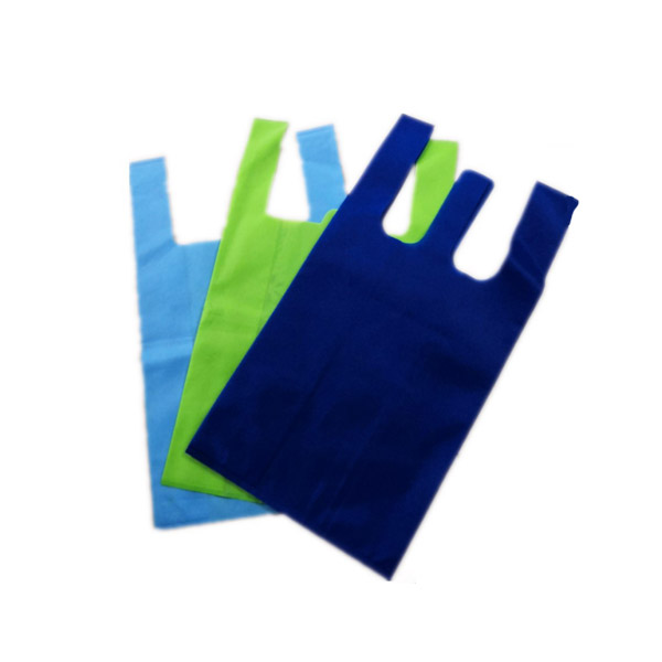reusable u cut non woven bags factory for shopping mall-2