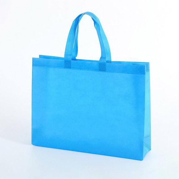 Eco-friendly custom non-woven shopping bag.