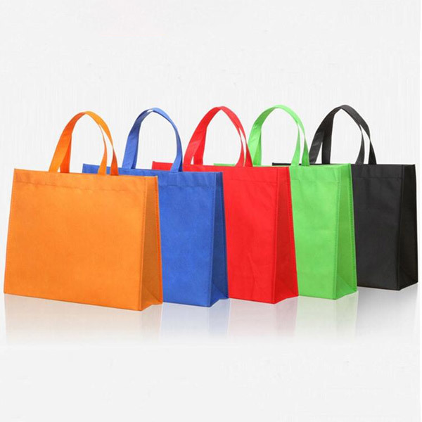Eco-friendly custom non-woven shopping bag.