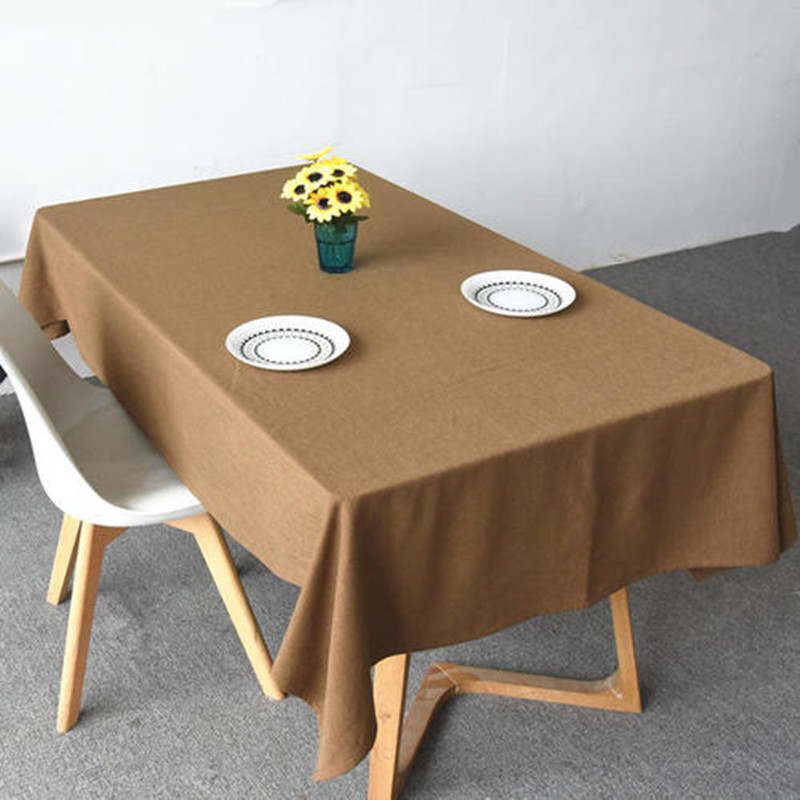wholesale fabric tablecloths with customized service for dinning room-1