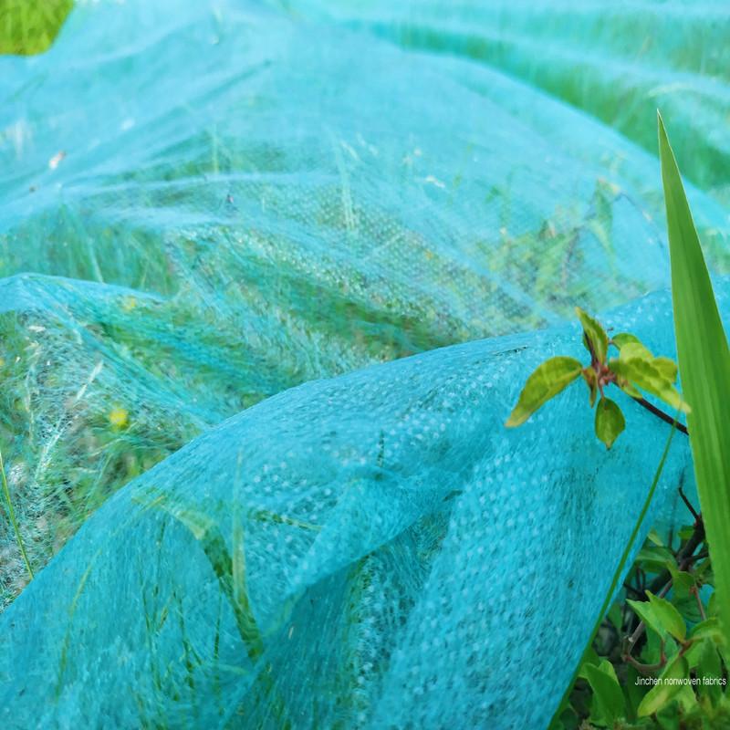 Green PP Spun-bond nonwoven Landcover, Landscape