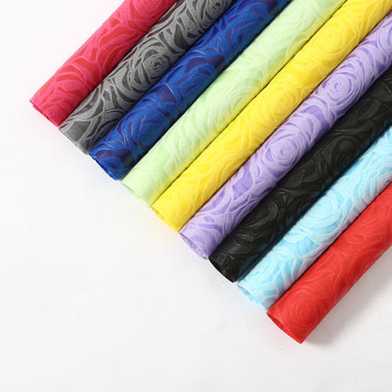 Factory Direct Eco-friendly Embossed Nonwoven Fabrics
