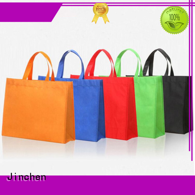 Jinchen tote u cut non woven bags package for shopping mall