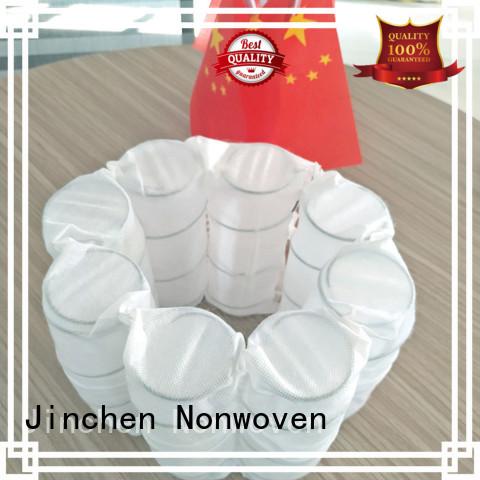 non woven manufacturer tube for spring Jinchen