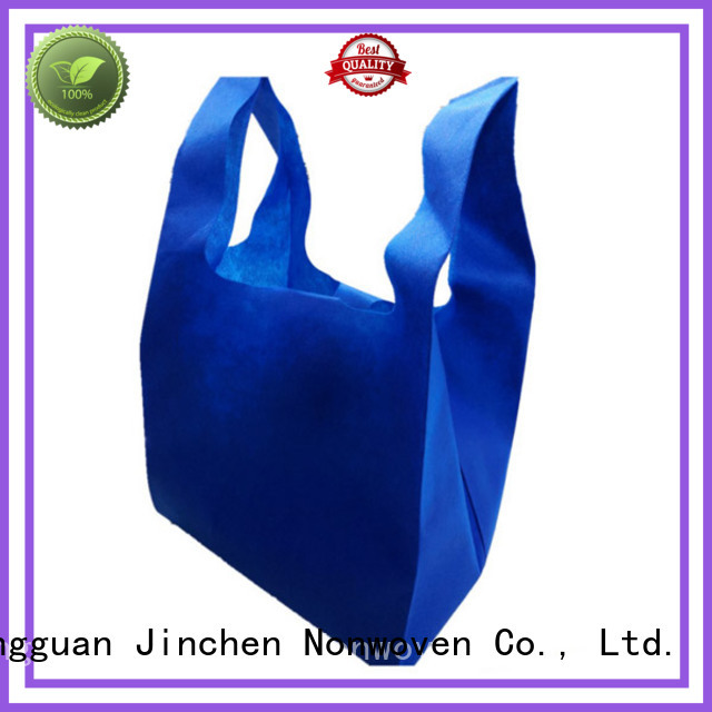Jinchen non plastic carry bags package for supermarket