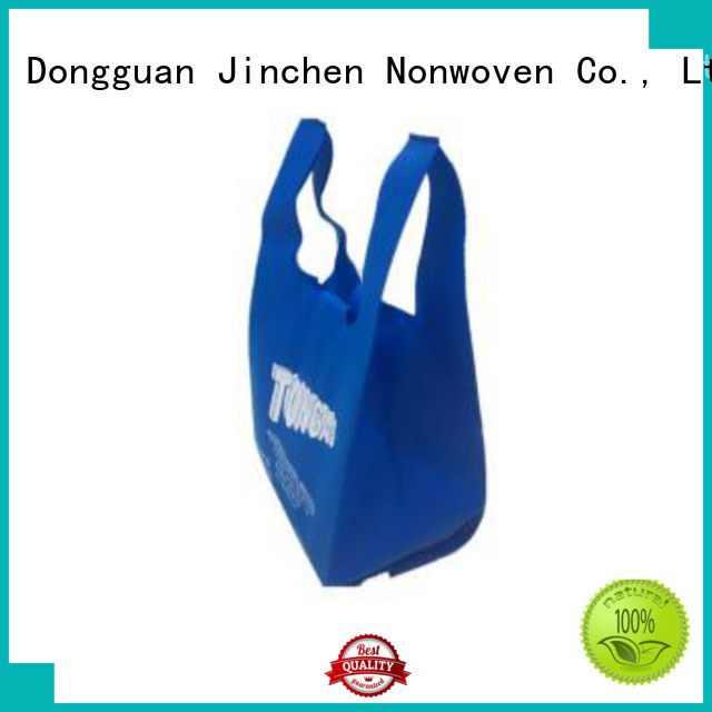 Jinchen non woven bags wholesale package for supermarket