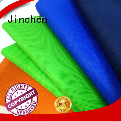 Jinchen latest pp spunbond nonwoven fabric company for sale