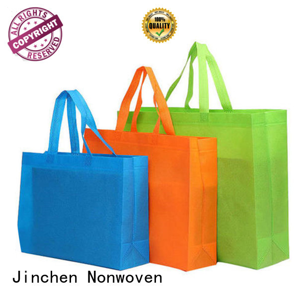 Jinchen non woven tote bags wholesale package for supermarket