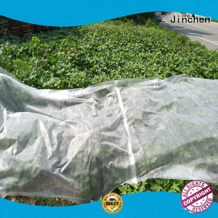 Jinchen ultra width agricultural fabric suppliers fruit cover for greenhouse