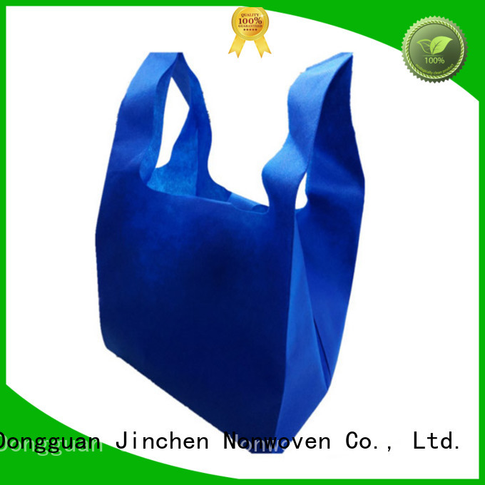 Jinchen non plastic bags with customized logo for shopping mall