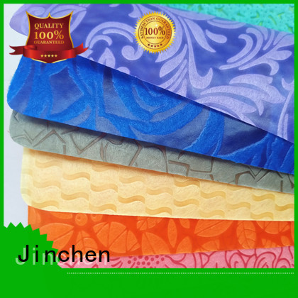 Jinchen pp spunbond non woven fabric covers for furniture