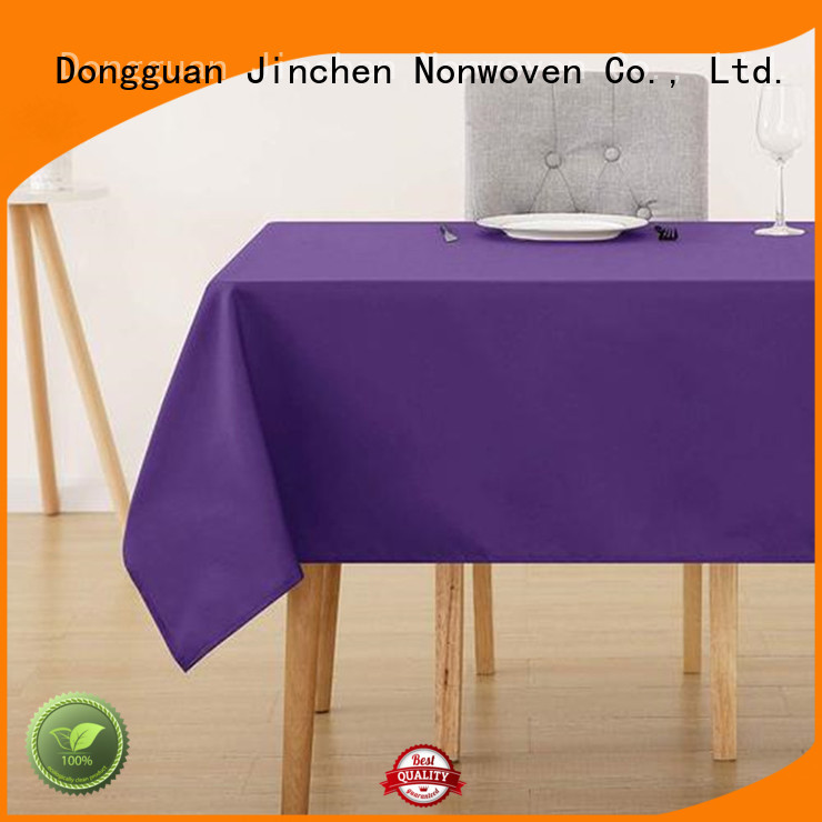 Jinchen non woven table covers with customized service for sale