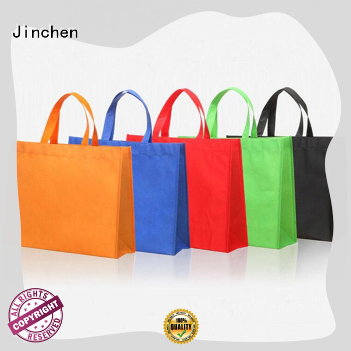 Jinchen eco friendly non woven tote bags wholesale package for sale