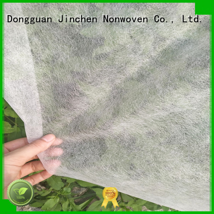 Jinchen latest agricultural fabric ground treated for garden