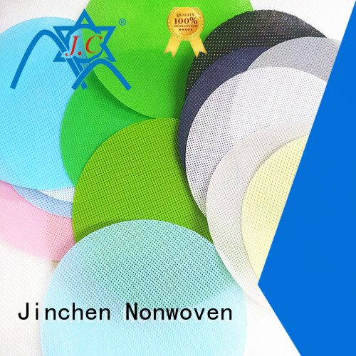 Jinchen pp spunbond non woven fabric company for furniture