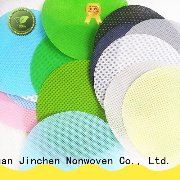 Jinchen virgin pp spunbond nonwoven fabric cloth for sale