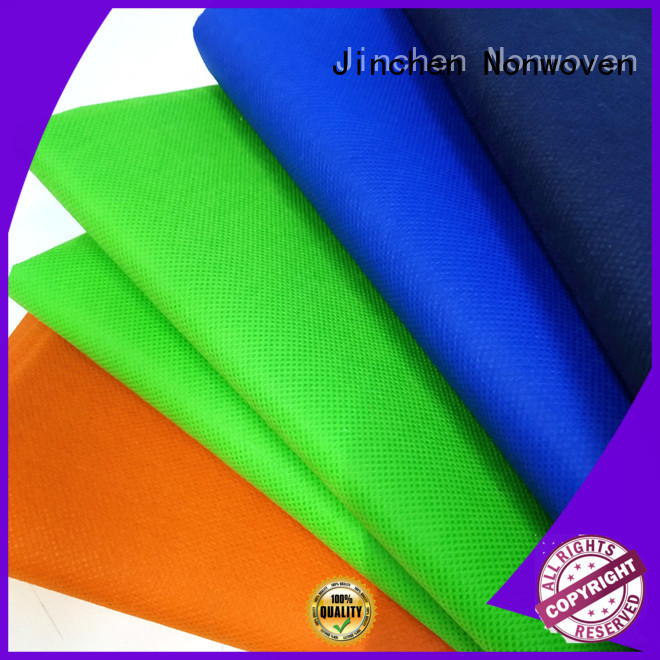 colorful pp spunbond nonwoven fabric cloth for sale