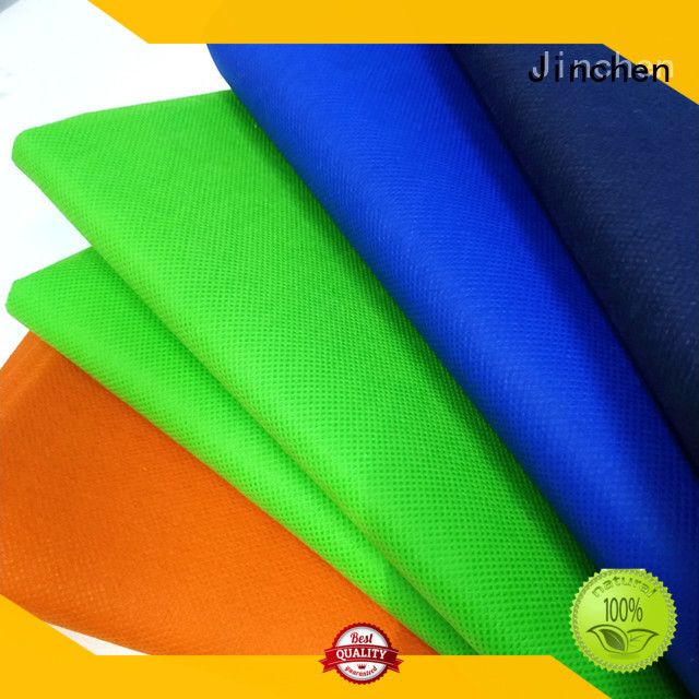 Jinchen new pp spunbond non woven fabric supplier for furniture