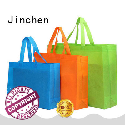 Jinchen seedling non plastic carry bags handbags for shopping mall