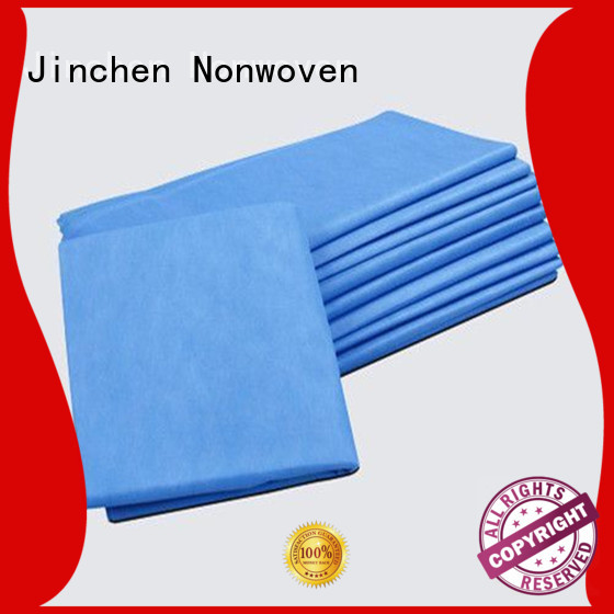 Jinchen wholesale fabric tablecloths with customized service for restaurant