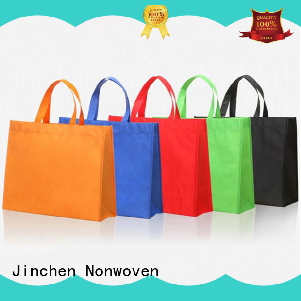 Jinchen non plastic bags package for shopping mall