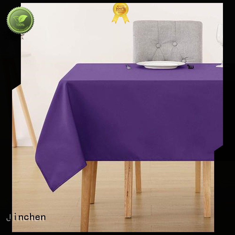 Jinchen custom tnt tablecloth factory for sale
