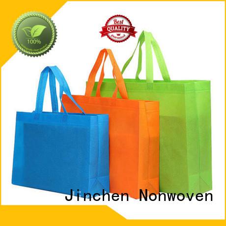 Jinchen non woven tote bags wholesale handbags for supermarket