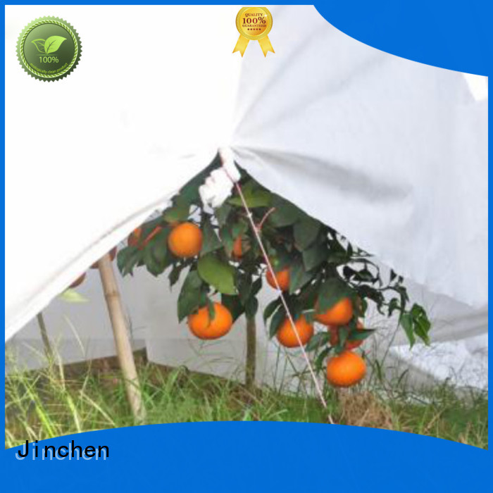 Jinchen agriculture non woven fabric fruit cover for greenhouse