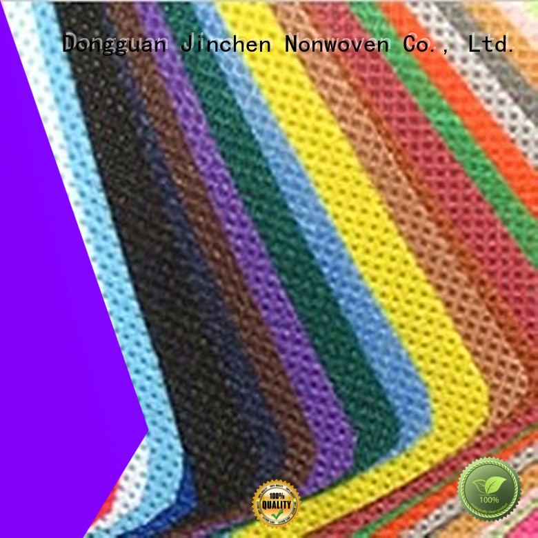 Jinchen colorful pp spunbond nonwoven fabric bags for agriculture