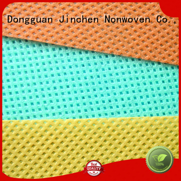Jinchen pp spunbond nonwoven fabric with customized service for sale