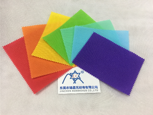 100% Virgin PP Colorful Non Woven Fabric Customized