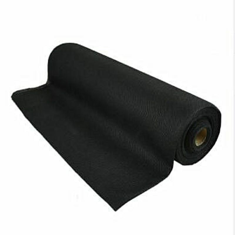 Anti-UV hydrophilic landscape nonwoven fabric