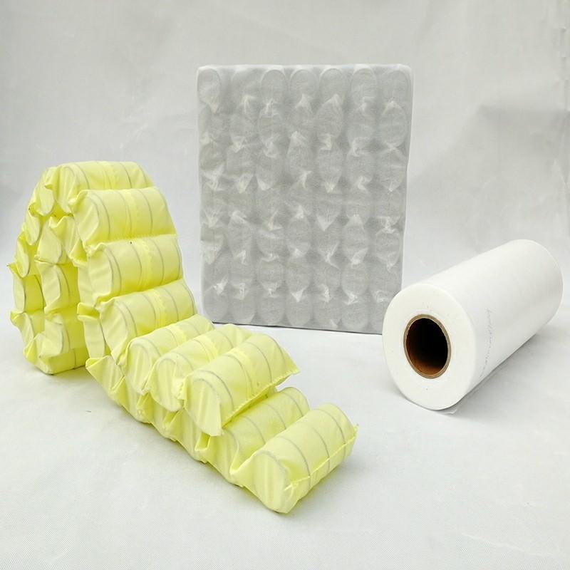 100% polypropylene non-woven fabric for Spring Pocket, Sofa, Mattress