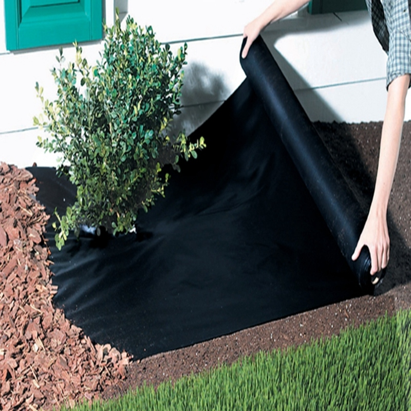 Anti-UV Agriculture Weed Control Non Woven Mulch Film Ground Cover