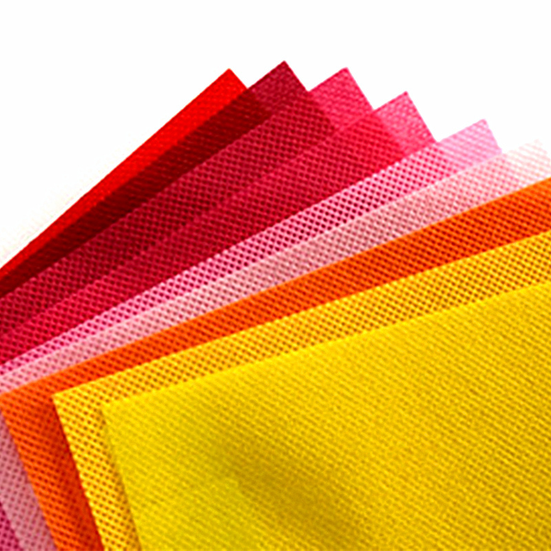 Factory production and sales PP multi-functional color spunbonded non - woven fabrics