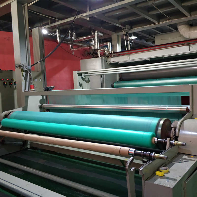 Agricultural spun-bonded PP non-woven film, anti-cold fabric and weeding fabric