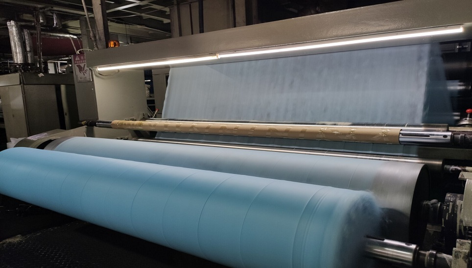 medical blue pp spunbond nonwoven fabric for face m