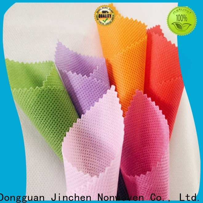 Jinchen reusable pp spunbond non woven fabric factory for furniture