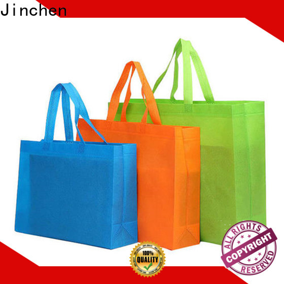 Jinchen non woven fabric bags manufacturer for shopping mall
