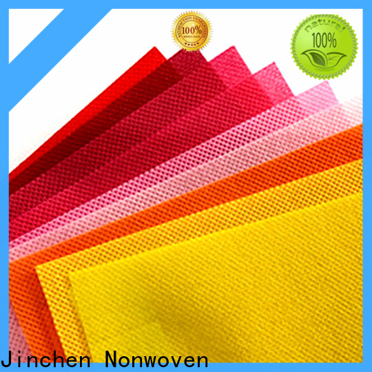 Jinchen pp spunbond nonwoven fabric for busniess for furniture