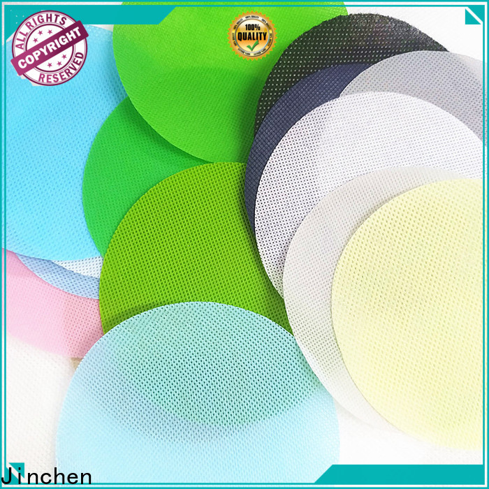 Jinchen custom polypropylene spunbond nonwoven fabric with customized service for sale