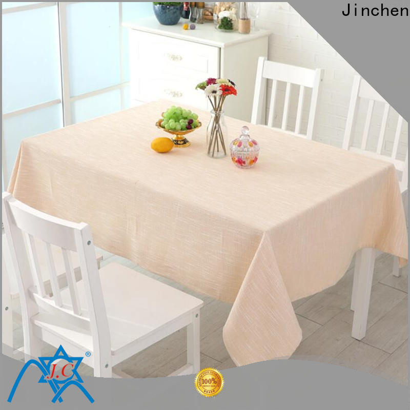 Jinchen non woven cotton factory for dinning room