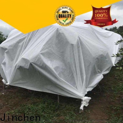 Jinchen latest spunbond nonwoven fabric ground treated for tree