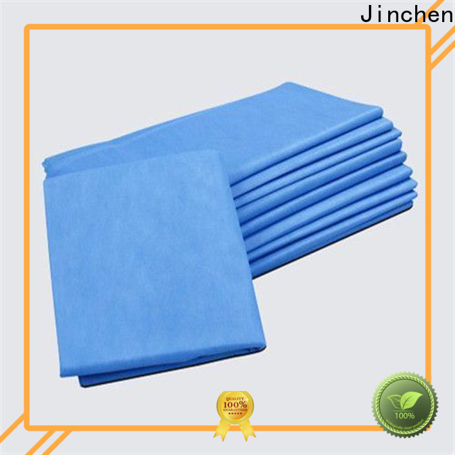Jinchen non woven table covers with customized service for dinning room